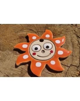 Sluníčko malé oranžové